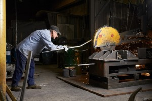 Large Grinding Wheel Cleaning