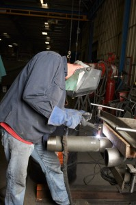 Completing a Burner Tube Assembly