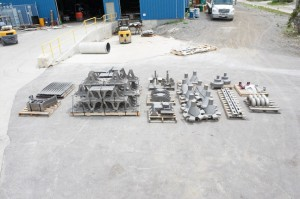 Large Array of Different High Alloy Castings