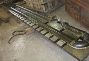 Walking Beam Sections with Rider Blocks
